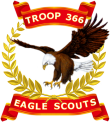 Troop 366 Eagle Scouts